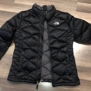 North Face 550 Black Puffer Jacket